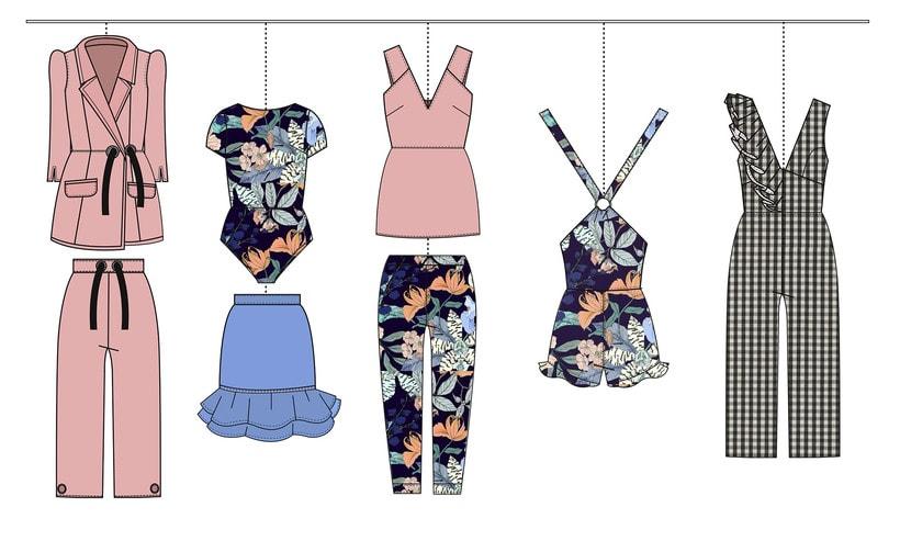HIBISCUS- Propuesta de colección cápsula para Zara Woman SS2017 13