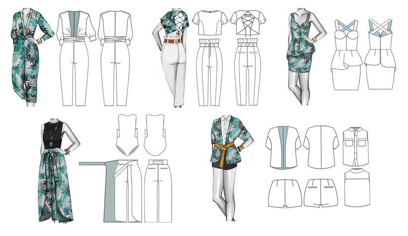 HIBISCUS- Propuesta de colección cápsula para Zara Woman SS2017 14
