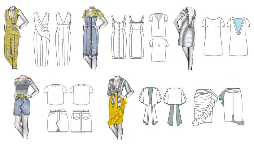 HIBISCUS- Propuesta de colección cápsula para Zara Woman SS2017 15