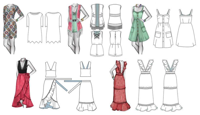 HIBISCUS- Propuesta de colección cápsula para Zara Woman SS2017 16