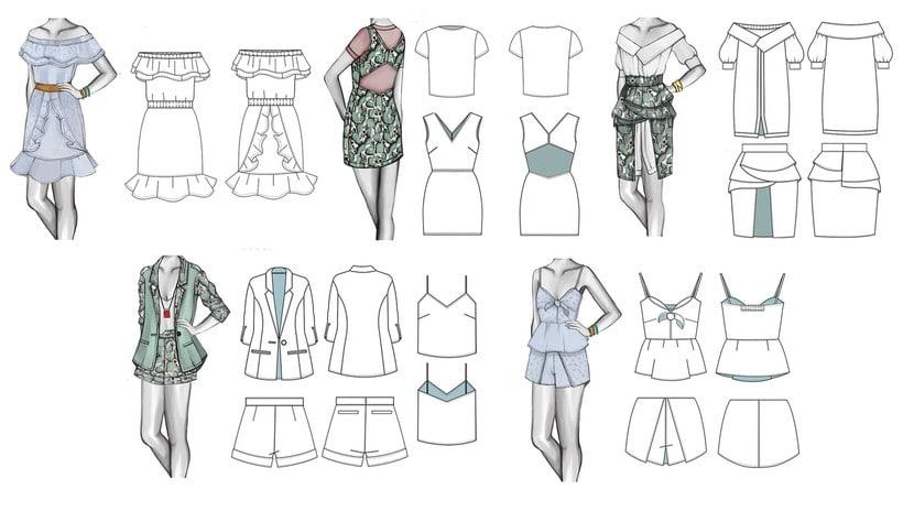 HIBISCUS- Propuesta de colección cápsula para Zara Woman SS2017 17
