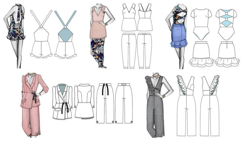HIBISCUS- Propuesta de colección cápsula para Zara Woman SS2017 18