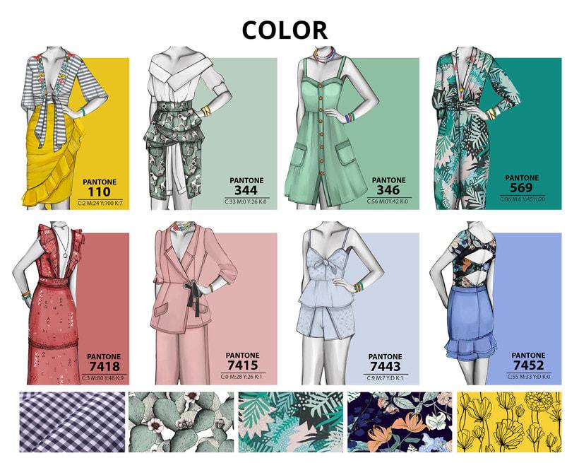 HIBISCUS- Propuesta de colección cápsula para Zara Woman SS2017 19