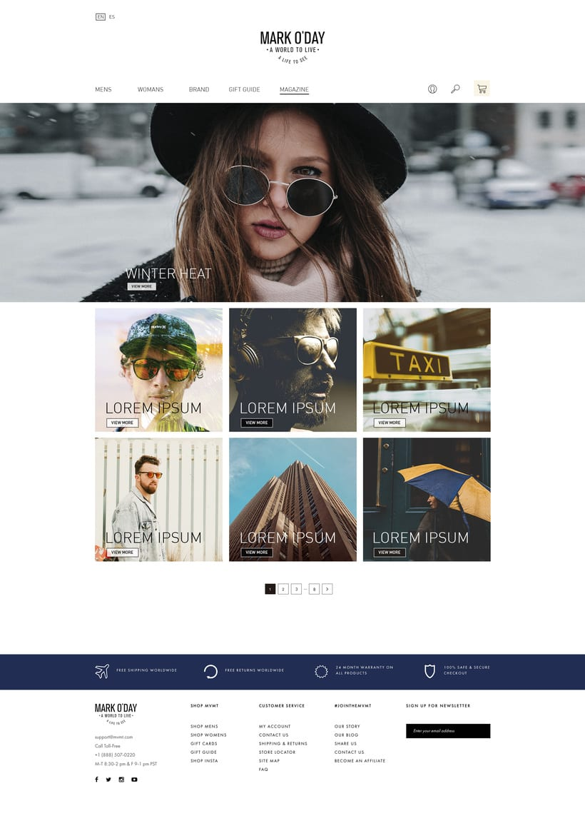 Mark O'day Website  3