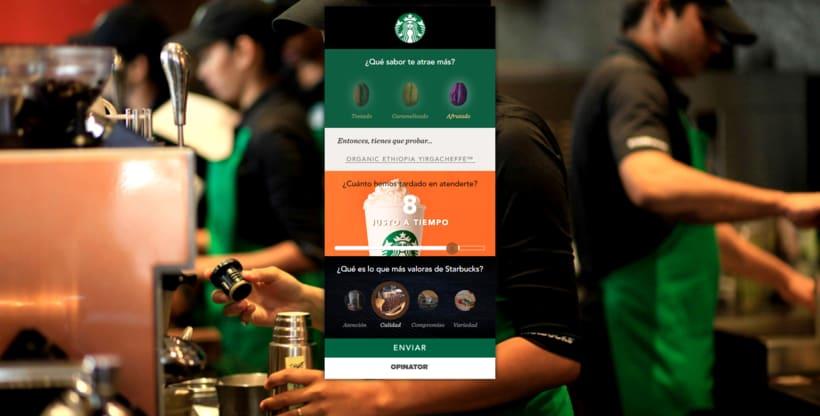 UI / IxD / CSS - Starbucks 2
