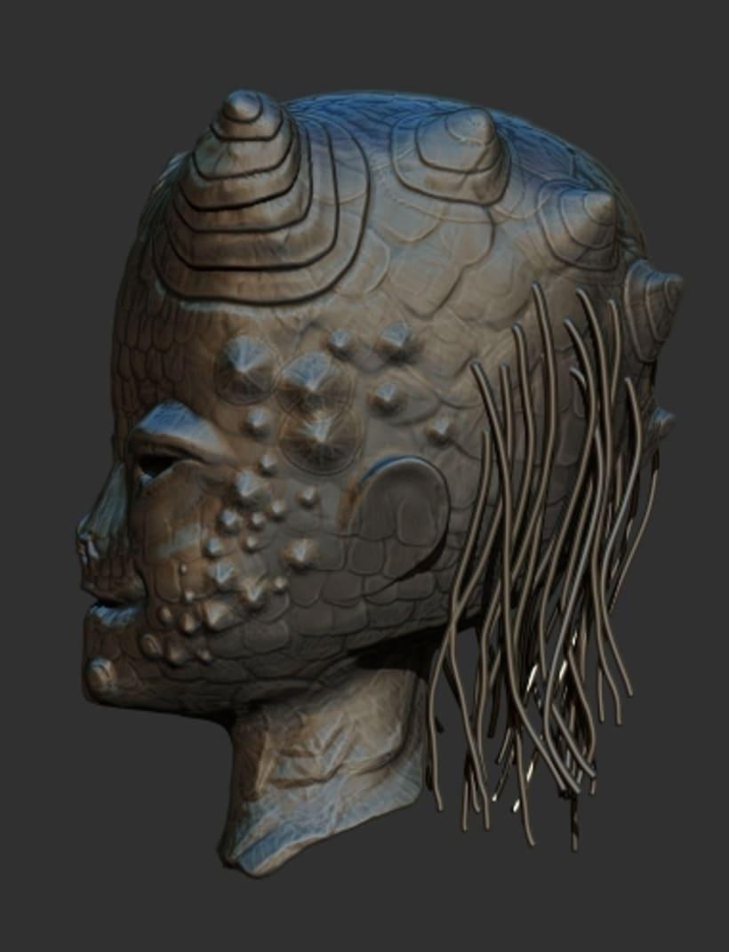 Alien 3D 2