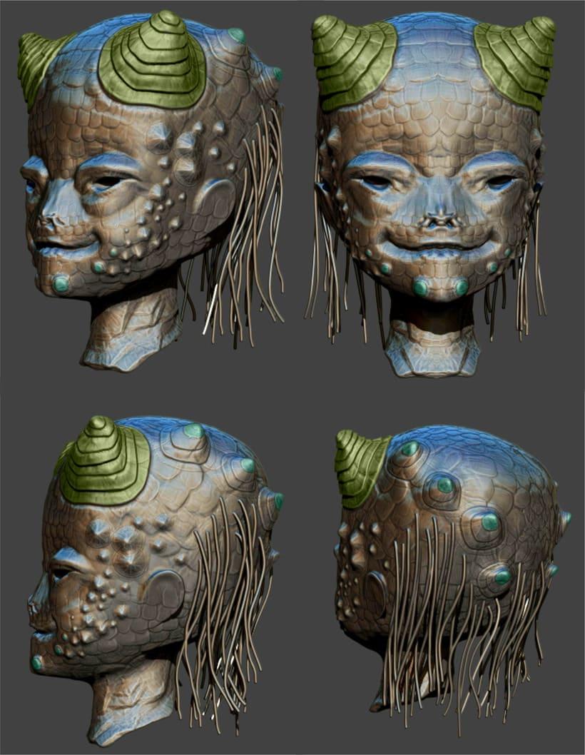 Alien 3D 4
