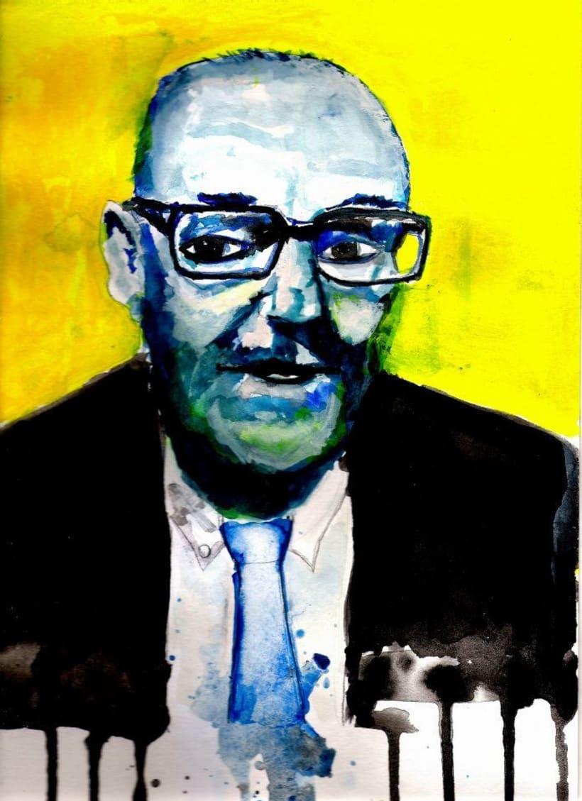 Retrato de Burroughs -1