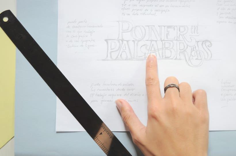 """✍ TALLER. """"Lettering, poner en palabras"""". 3"""