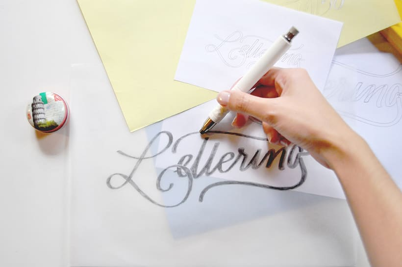 """✍ TALLER. """"Lettering, poner en palabras"""". 4"""