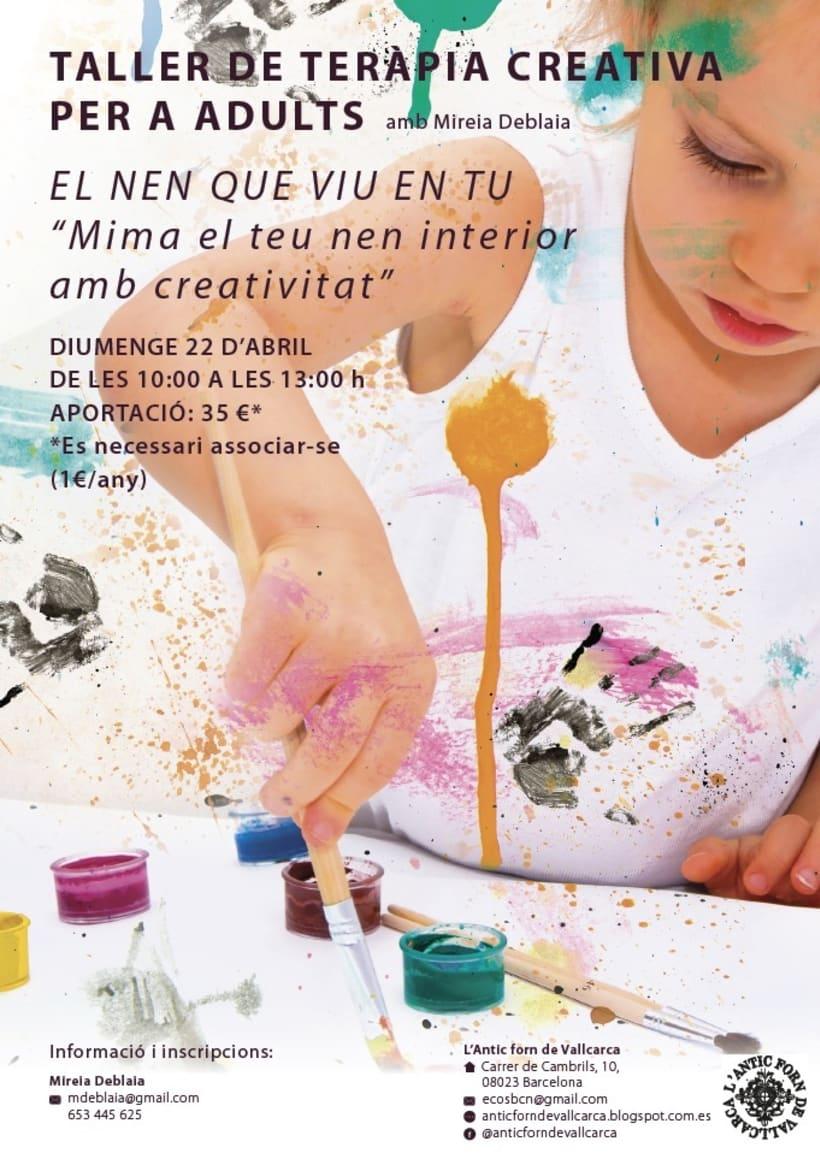 Taller de terapia creativa para adultos. 22 de abril. -1