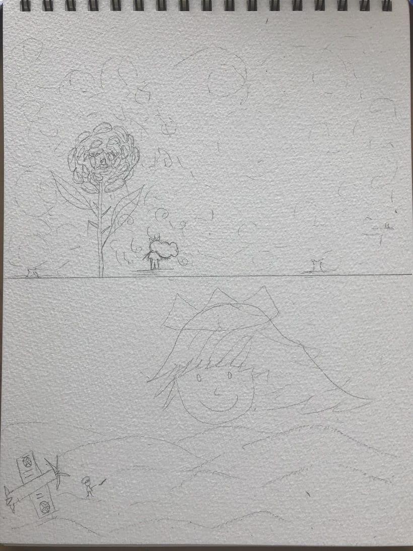 Mi Proyecto del curso: Introducción a la ilustración infantil. EL PRINCIPITO -1