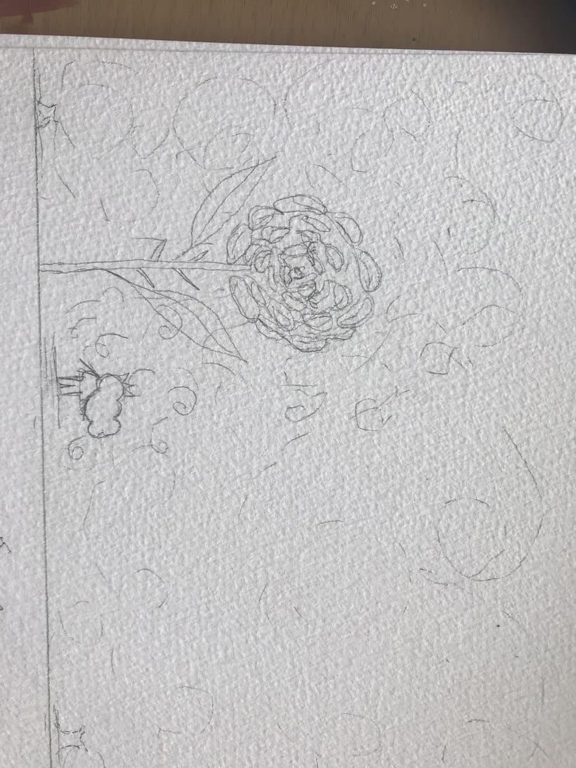 Mi Proyecto del curso: Introducción a la ilustración infantil. EL PRINCIPITO 4