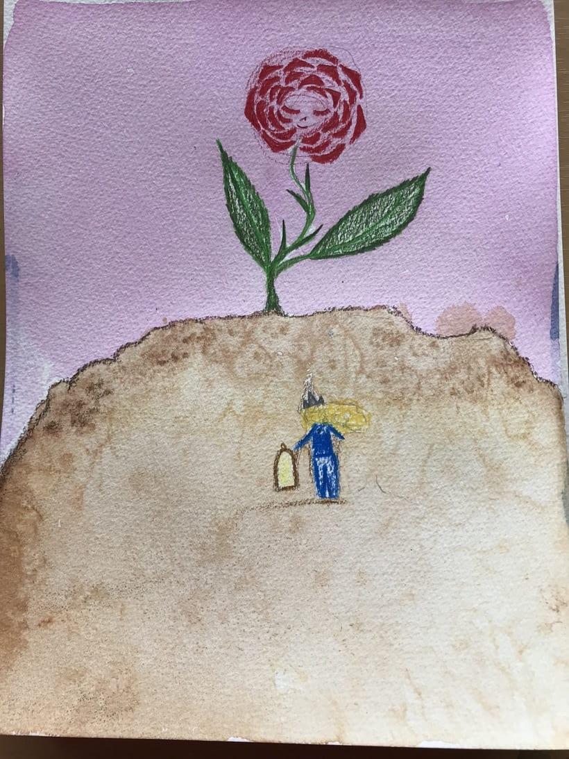 Mi Proyecto del curso: Introducción a la ilustración infantil. EL PRINCIPITO 5