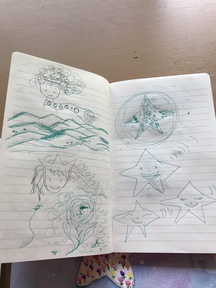 Mi Proyecto del curso: Introducción a la ilustración infantil. EL PRINCIPITO 6