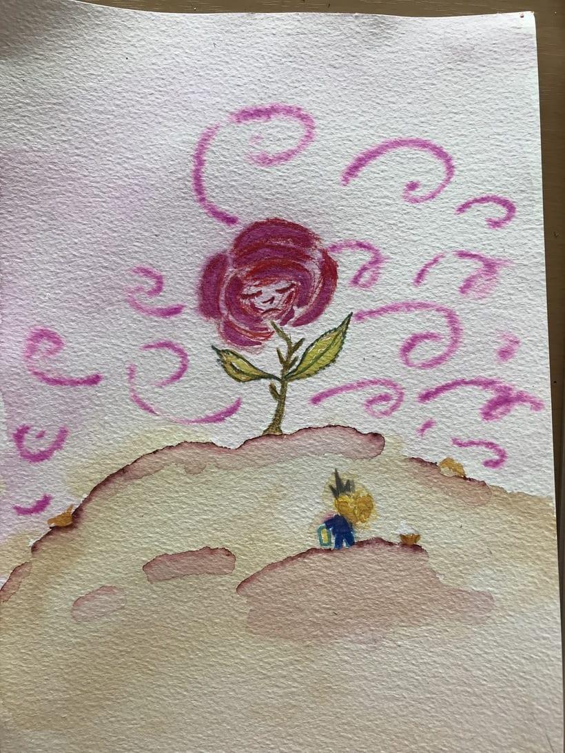 Mi Proyecto del curso: Introducción a la ilustración infantil. EL PRINCIPITO 9