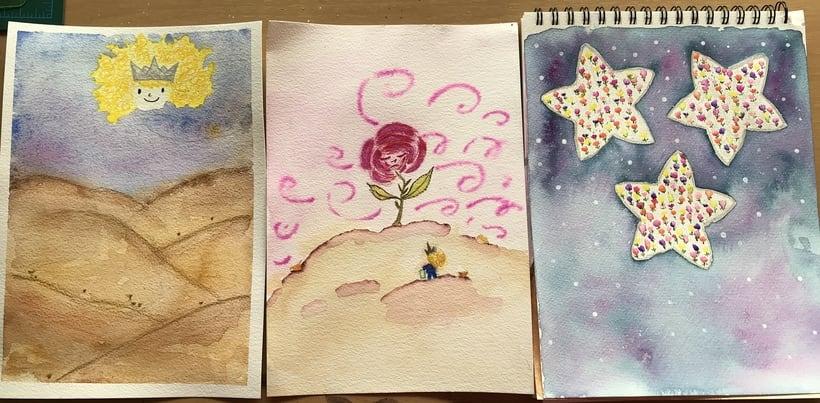Mi Proyecto del curso: Introducción a la ilustración infantil. EL PRINCIPITO 11