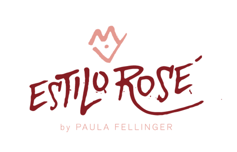 LMi Proyecto del curso: Caligrafía con tiralíneas- Logo Estilo Rosé -1
