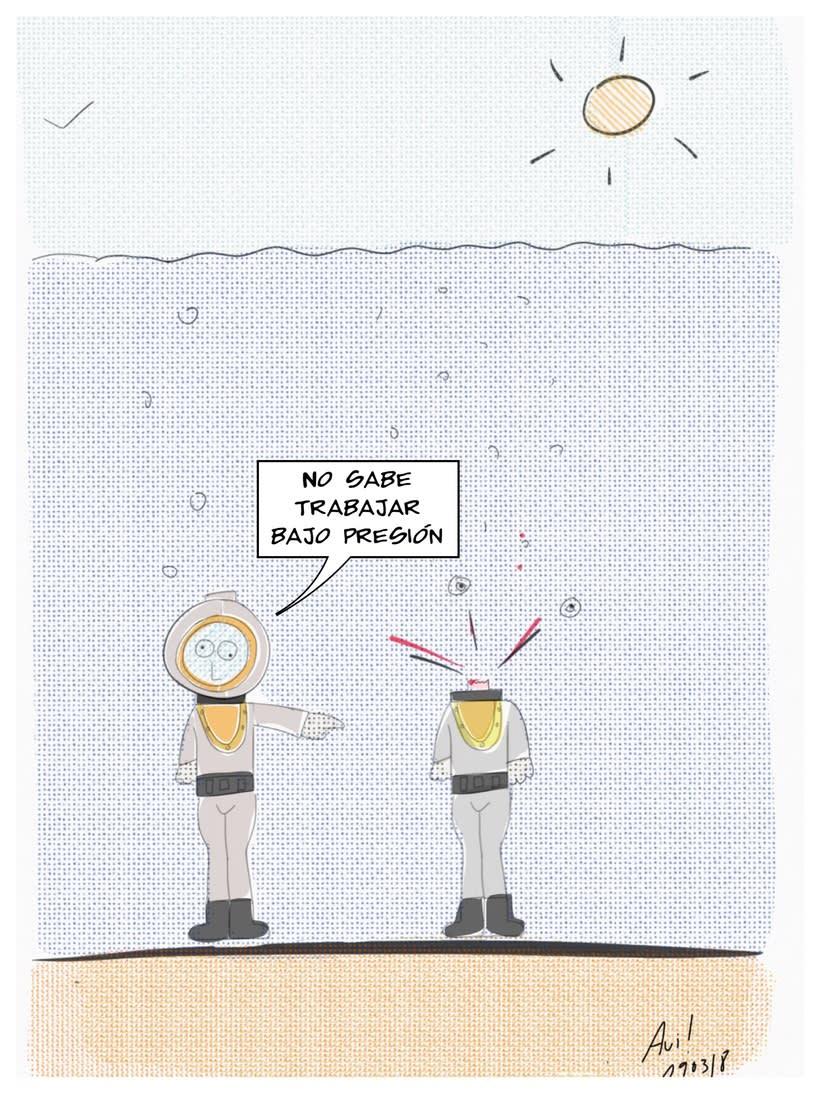 Viñetas de humor superdotado  8