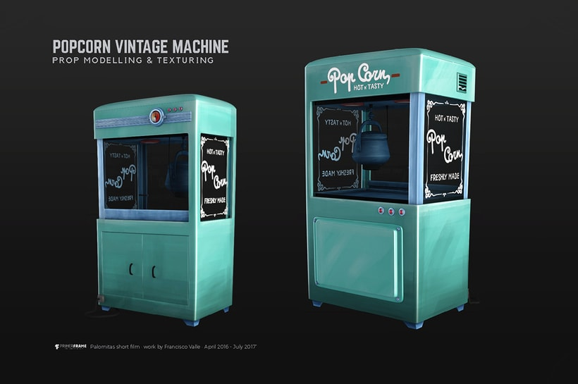'Palomitas' - PopCorn machine 0