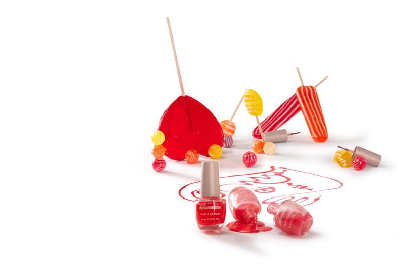 Bodegones de producto para catálogo de cosmética. 1
