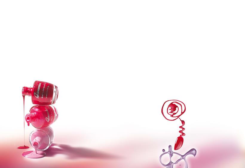 Bodegones de producto para catálogo de cosmética. 2