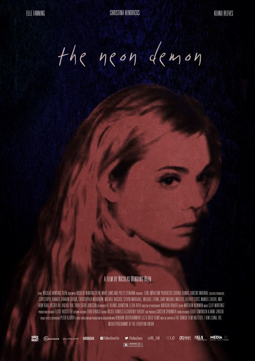 The Neon Demon (Alternative Movie Posters) 3