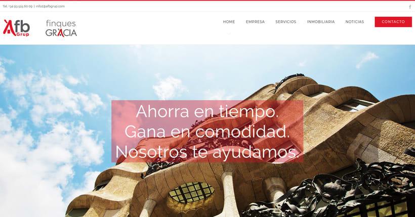 Restyling Web para agencia de fincas a Barcelona - Marketing plan -1