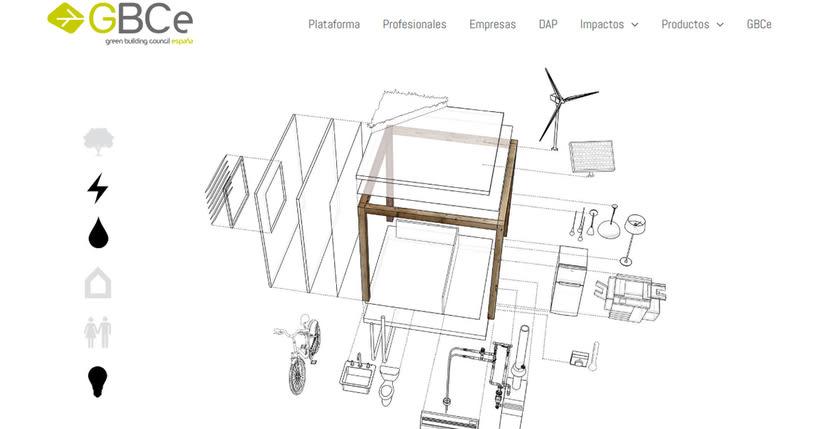 Plataforma web dinamica para materiales sostenibles en Arquitectura -1