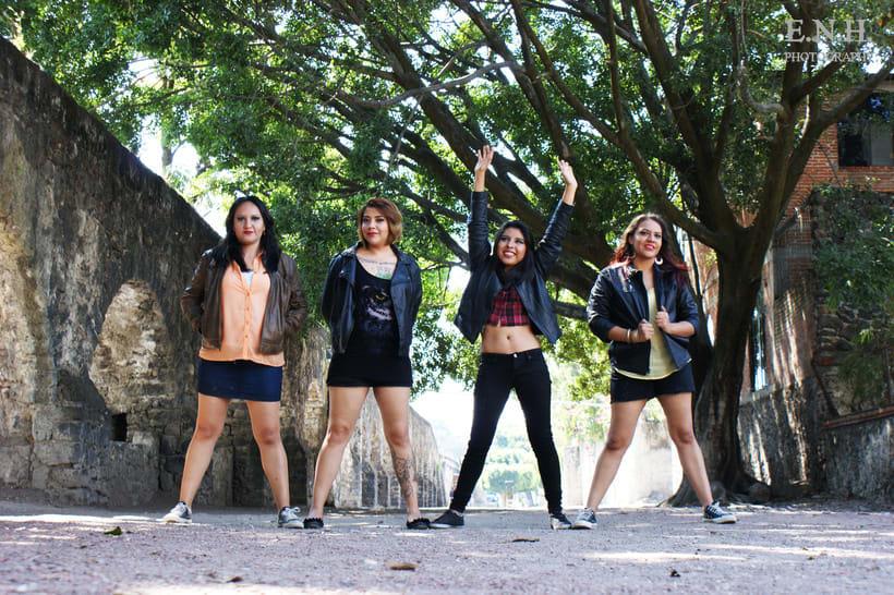 Photoshoot a banda musical 3