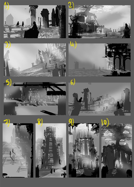 Mi Proyecto del curso: Concept art para videojuegos AAA 3