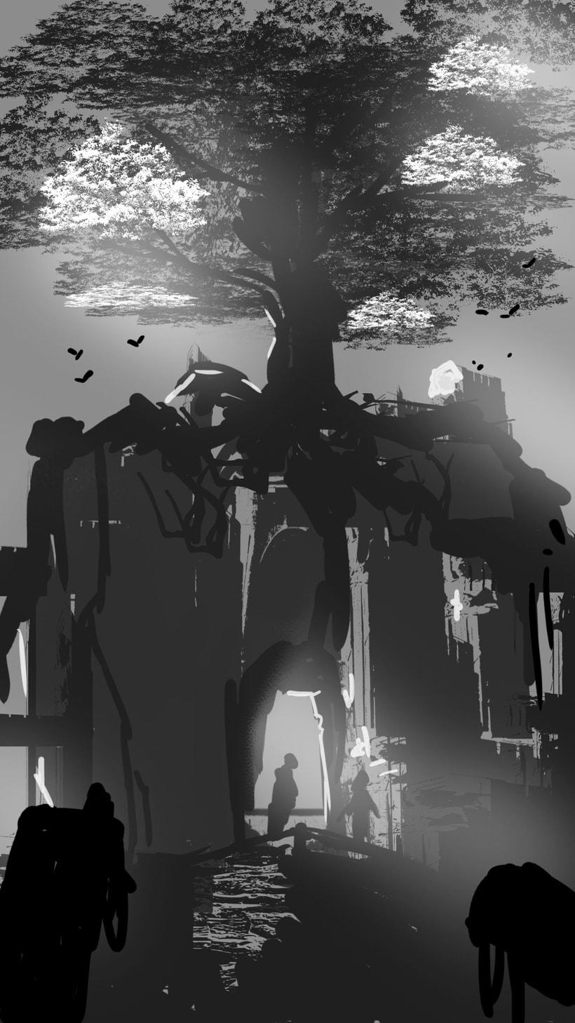 Mi Proyecto del curso: Concept art para videojuegos AAA 4