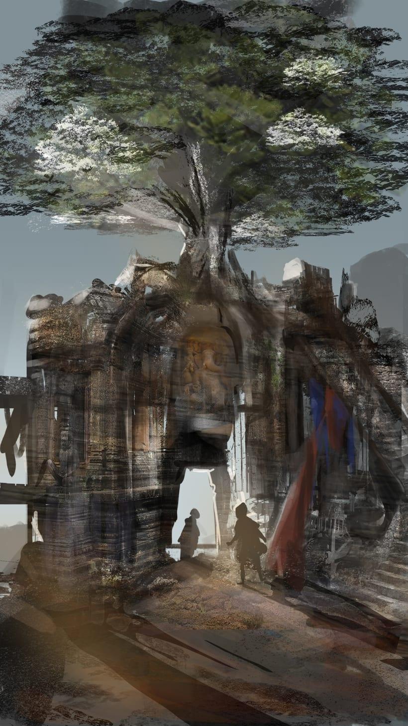 Mi Proyecto del curso: Concept art para videojuegos AAA 6