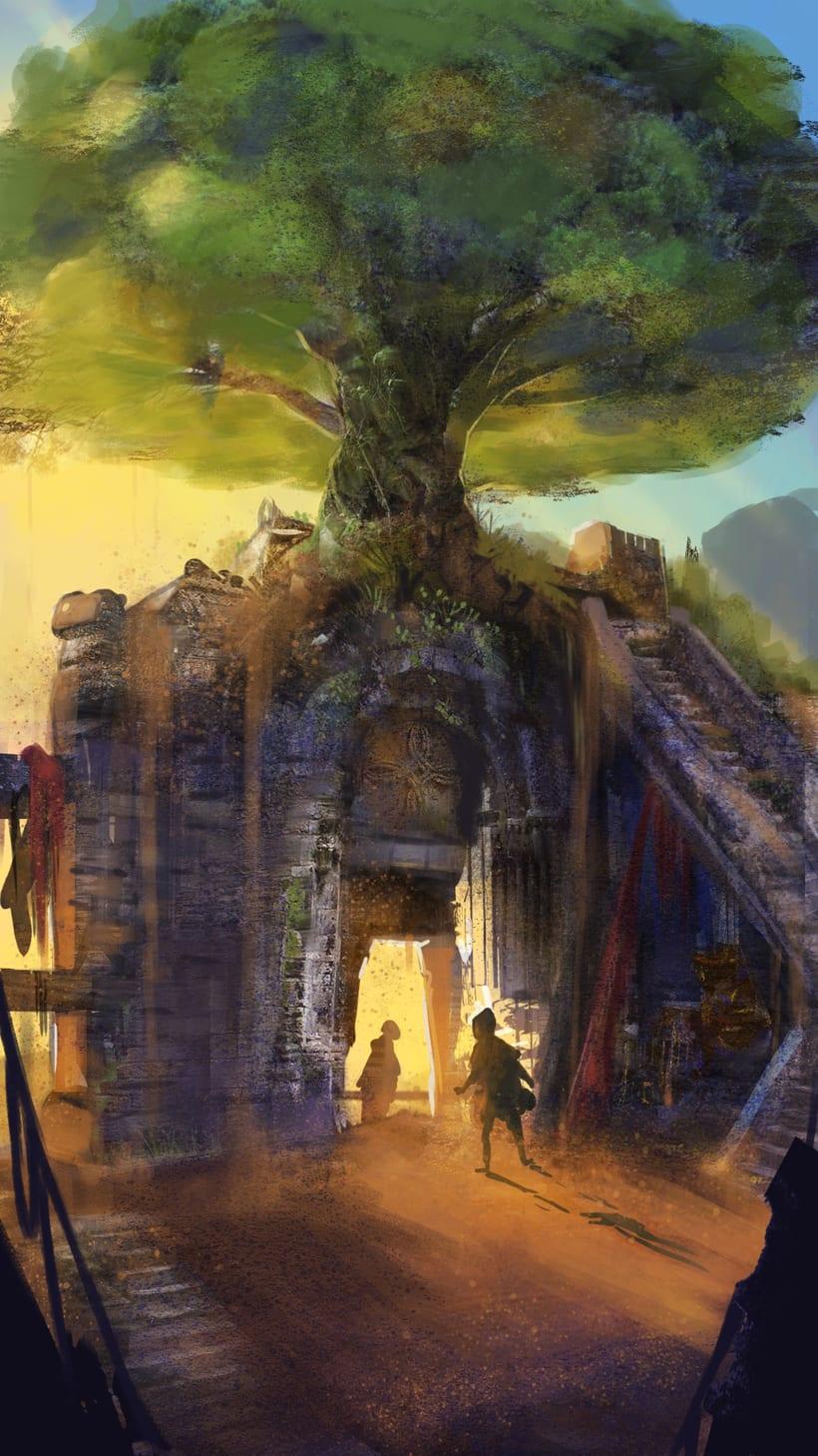 Mi Proyecto del curso: Concept art para videojuegos AAA 8