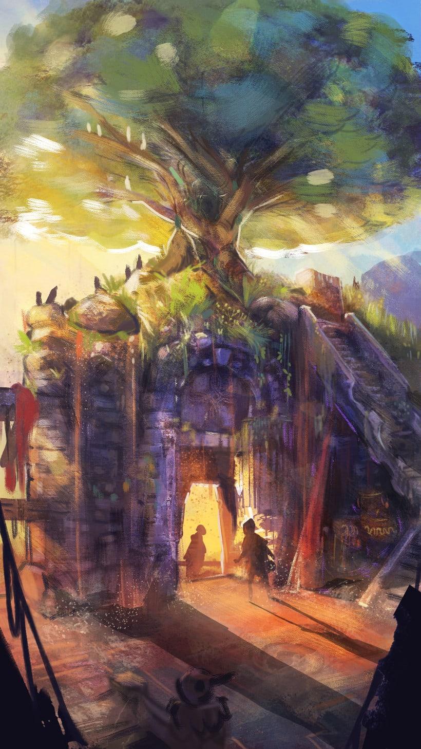 Mi Proyecto del curso: Concept art para videojuegos AAA 1