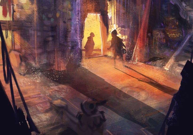 Mi Proyecto del curso: Concept art para videojuegos AAA 12