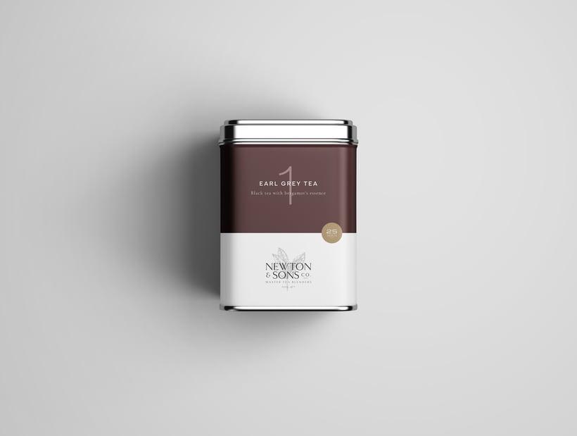 Newton&Sons Co. - Branding + Packaging 2