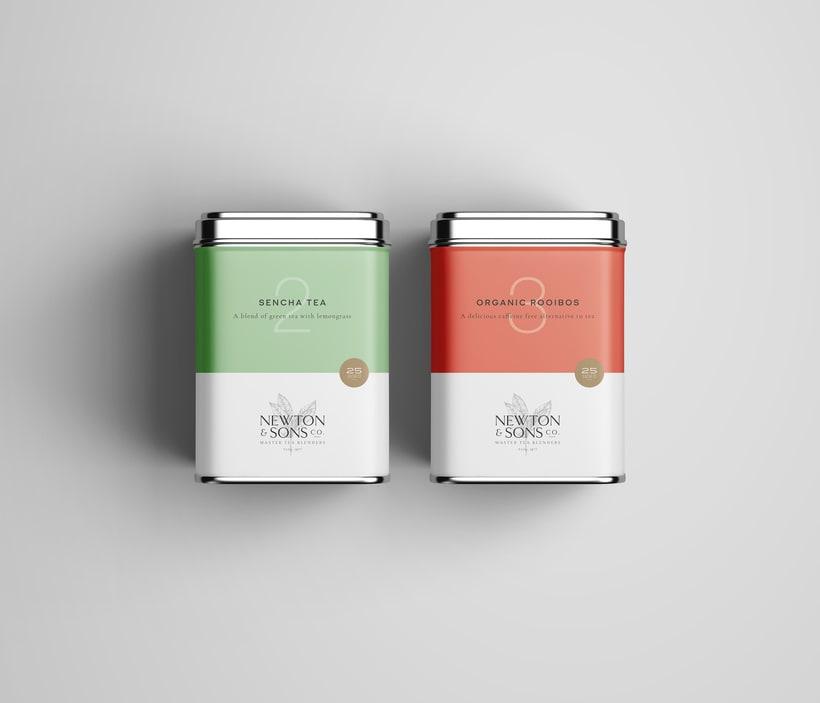 Newton&Sons Co. - Branding + Packaging 3