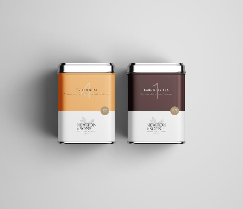 Newton&Sons Co. - Branding + Packaging 4