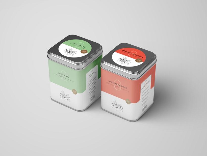 Newton&Sons Co. - Branding + Packaging 5