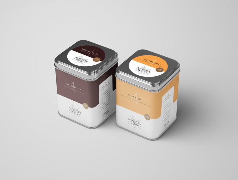 Newton&Sons Co. - Branding + Packaging 6