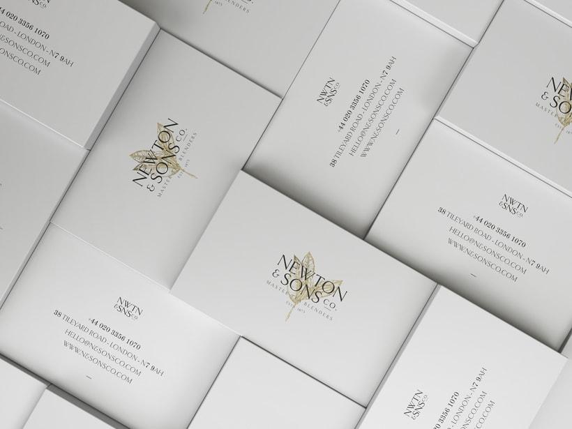Newton&Sons Co. - Branding + Packaging 10