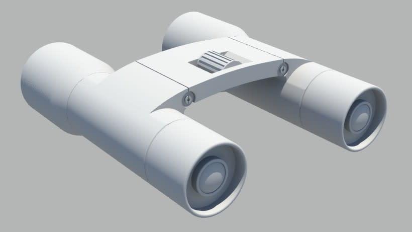 Modelado 3D - Prismáticos 0