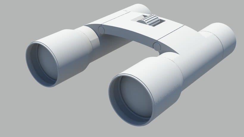 Modelado 3D - Prismáticos 1