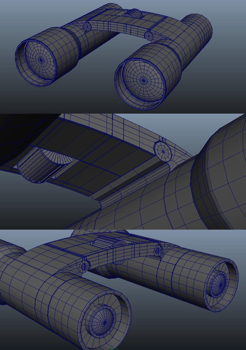 Modelado 3D - Prismáticos 2