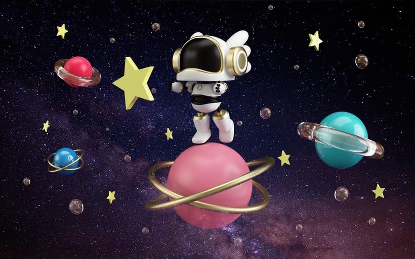 Little Astronaut 3