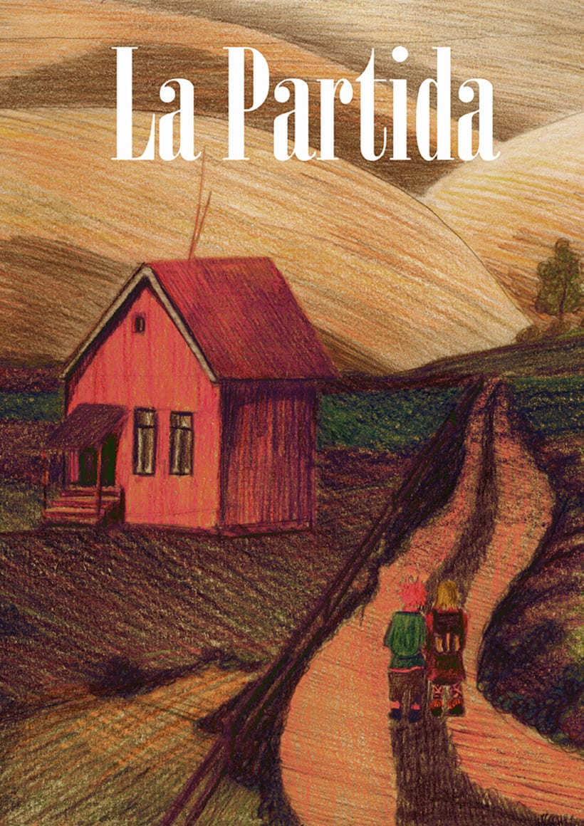 """LA PARTIDA"", historieta gràfica. PINTURA ACRÍLICA 4"
