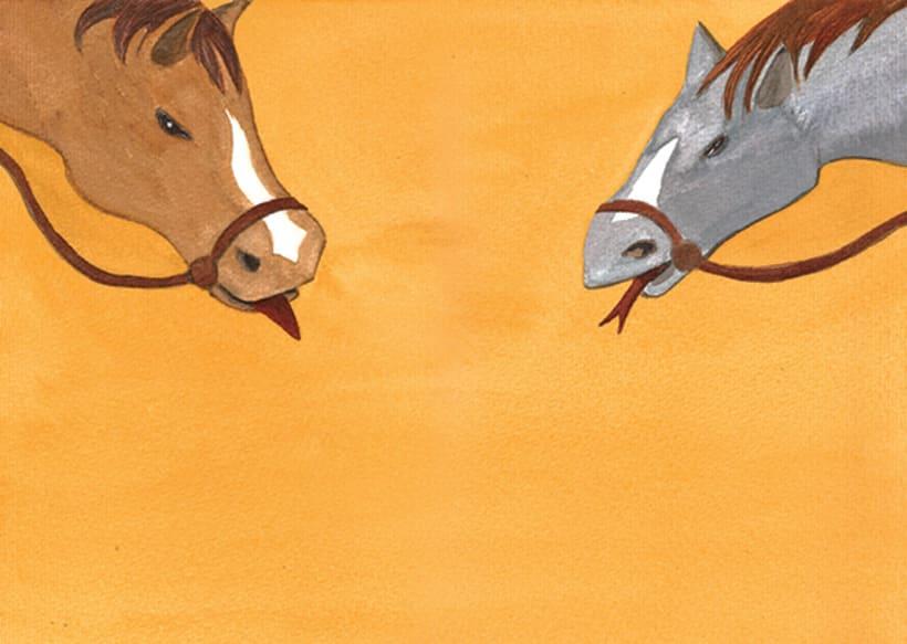 Pere Botero, il·lustració infantil. Tècnica aquarel·la. 4