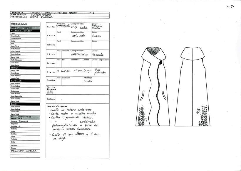 Desarrollo de la colección inspirada en el arquitecto Frank Gehry 10