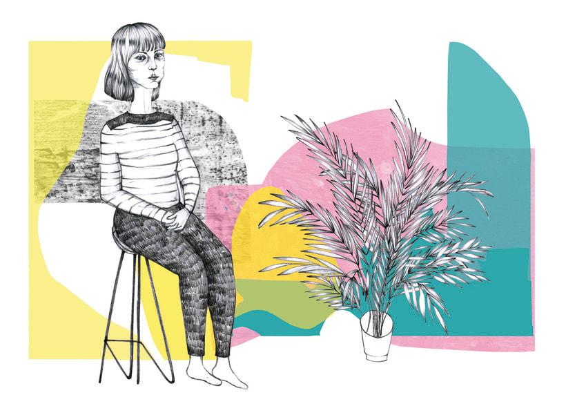 señoras y plantas -1
